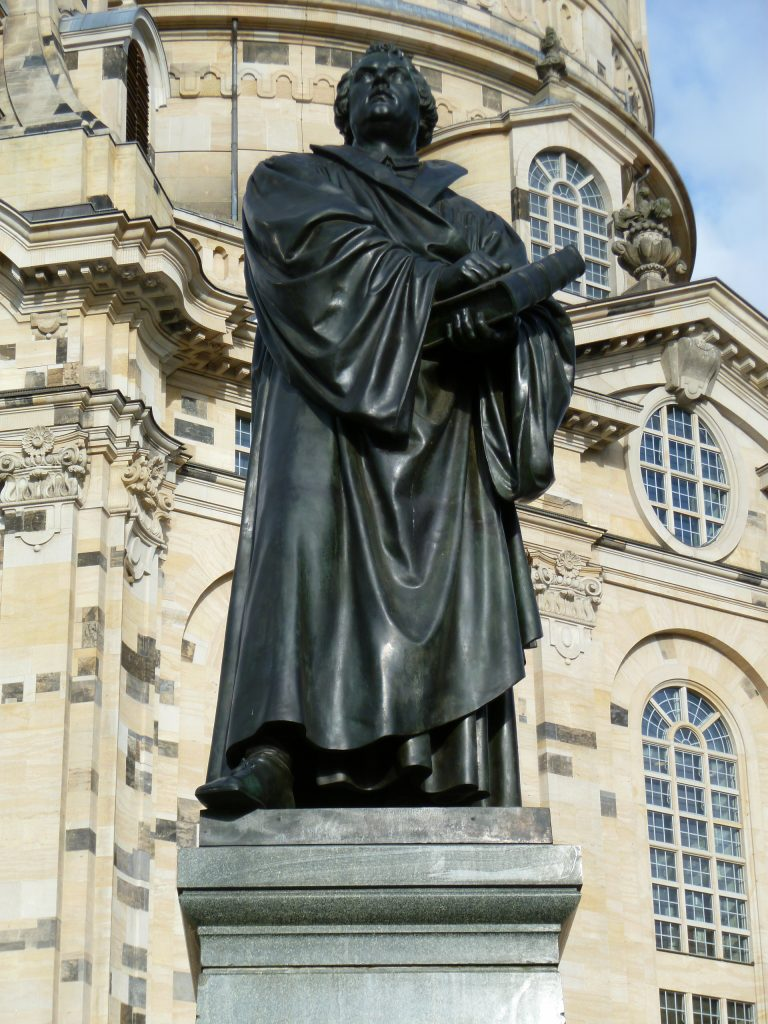 statue-de-luther-dresde
